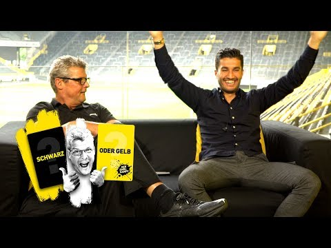 'I know what happens!' | Nuri Sahin takes on Nobby | 'The Duel: 🖤 or 💛 ?'