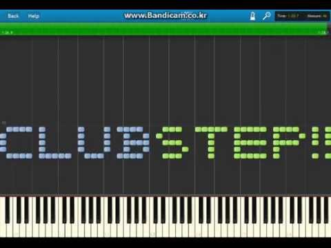 | Club step | Piano [PDF Download] (Geometry Dash 14th Level)