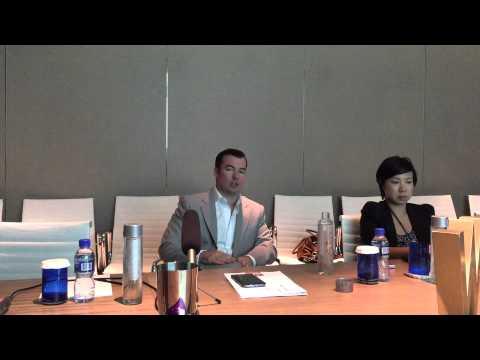 Lenovo's President AP region, Rod Lappin, answers Australian tech media questions