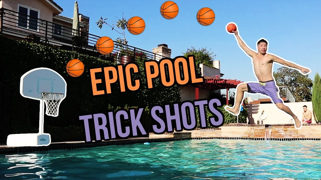 Epic Swimming Pool Trick Shots Embarrassing Punishment -7226