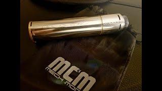 MCM MOŚE 25mm -- RDA & MECH TUBE/ FULL BREAKDOWN/BUILD/REVIEW