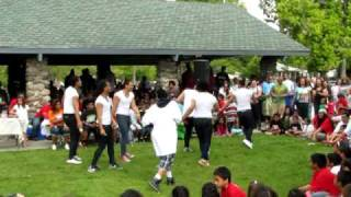 Rose Park Drill Team @ Da ROSE PARK FAMILY REUNION (Baby) & (Delirious)2010.