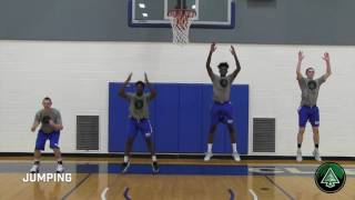 Roots 11 - a dynamic basketball warm up routine