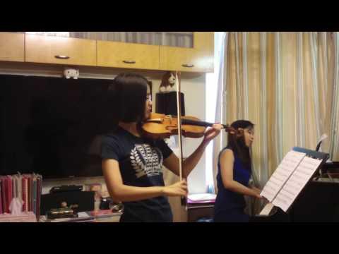 69th Music Festival N214 Violin Grade 5: Gretry Tambourin by Doris Lee and Lai Bo Ling