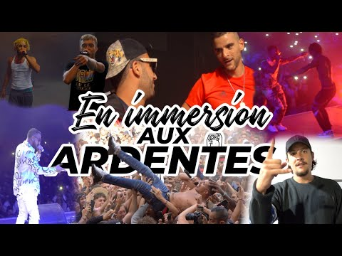 Youtube: Immersion aux Ardentes : Jok'air, Nekfeu, Lacrim, Dosseh, Sofiane, Zola, Heuss, Rk, Vald, Koba,Niska