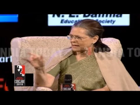 Sonia Gandhi On Rahul Gandhi Foreign Trip During North East Verdict | India Today Conclave 2018