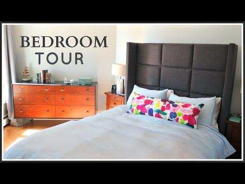 BEDROOM TOUR | Mid-Century Modern Calm