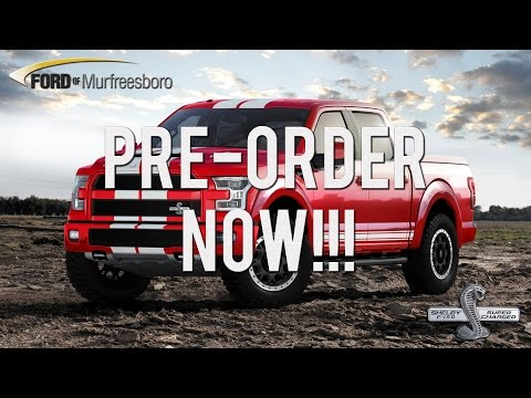 All New 2016 Shelby F-150 SUPERCHARGED 700 Hp