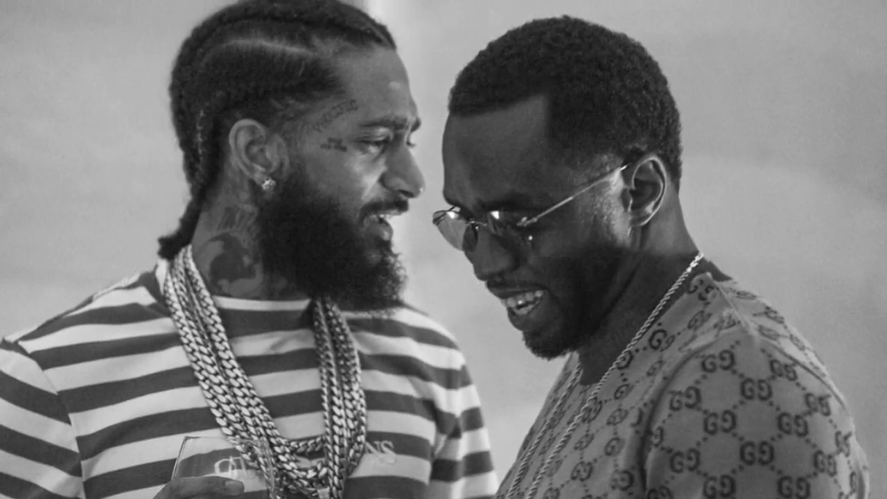 Image result for p diddy and nipsey