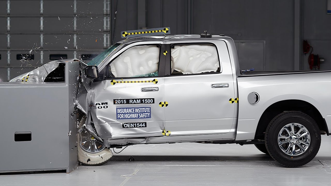 2015 Ram 1500 Crew Cab Driver Side Small Overlap Iihs