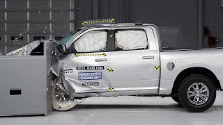 2015 Ram 1500 crew cab driver-side small overlap IIHS crash test