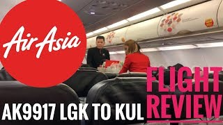 Flight Review AirAsia LGK to KUL - Airborne with Alan
