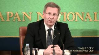 クリスティアン・ヴルフ ドイツ大統領 2011.10.24