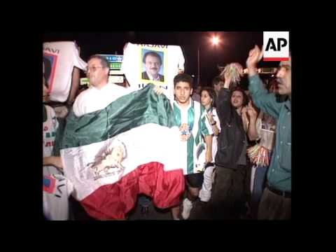 France - Supporters protest against Iranian regime