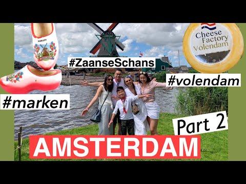 AMSTERDAM Part 2: Marken, Volendam And Zaanse Schans ♥️