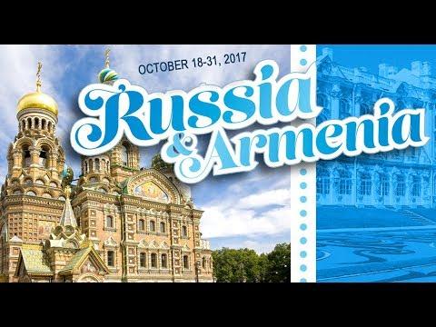 Join us in Russia & Armenia