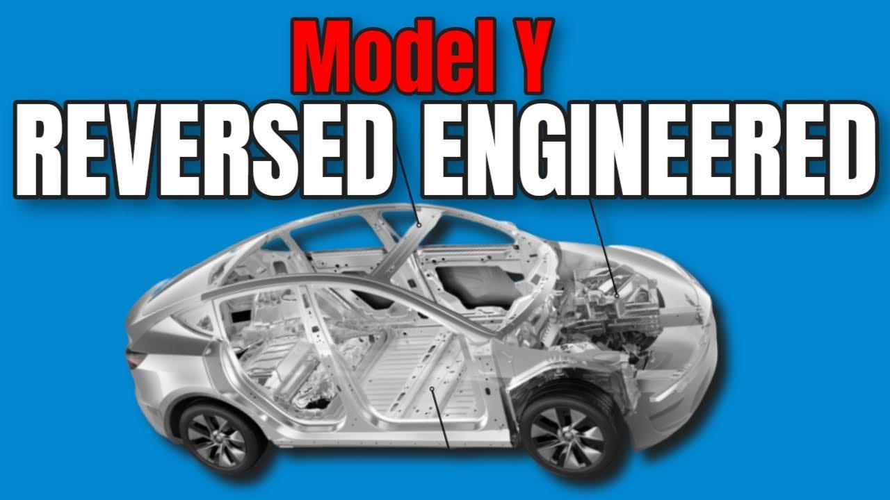 Tesla Model Y - REVERSE ENGINEERED [by Volvo]