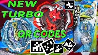 Новые коды TURBO Kraken K4 Ogre O4 QR коды Бейблэйд