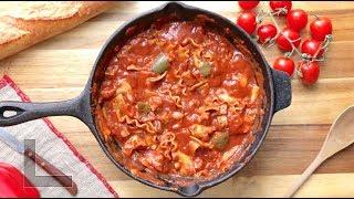One Pot Vegan Lasagna Casserole I The Buddhist Chef