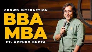 Social Media Analyst,Raipur & CA Vikas | Appurv Gupta aka GuptaJi |Stand Up Comedy Crowd Interaction