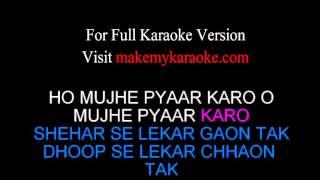 Karaoke: Subah Se Lekar Shaam Tak - Mohra