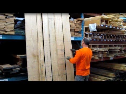 Comment faire une table de cuisine - achat et préparation du bois, 2 de 6, Parlons bois Ep.202