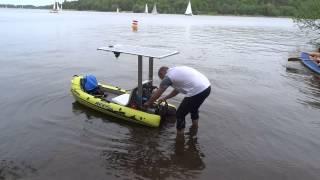 Unsinkbar II - manntragendes RC Solar-Motorboot