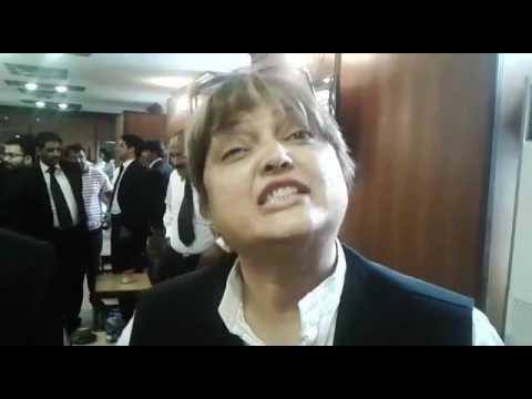 Female Lawyer Happy Panama Case Decision