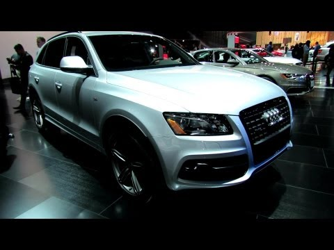 2012 Audi Q5 S-Line Exterior and Interior at 2012 New York International Auto Show