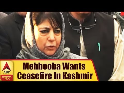 Mehbooba Mufti Suggests Unilateral Ceasefire in Jammu and Kashmir From Ramzan | ABP News