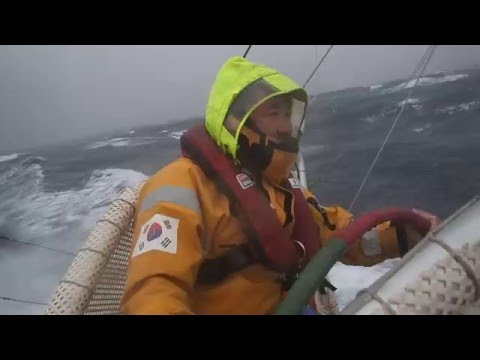 Sailing on a storm (North Pacific)