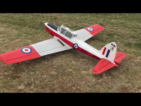Model Plane flyin Lake Forsyth
