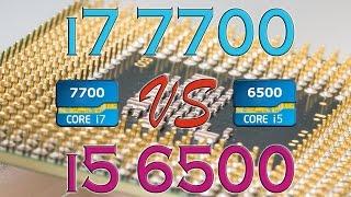 i7 7700 vs i5 6500 benchmarks gaming tests review and comparison kaby lake skylake