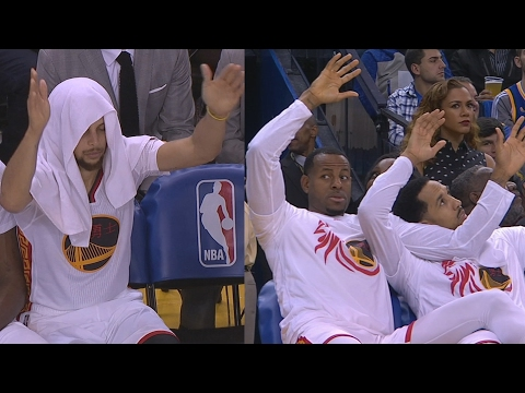 Warriors Shoot 55%! Bench Taunting Cheese! Bulls vs Warriors