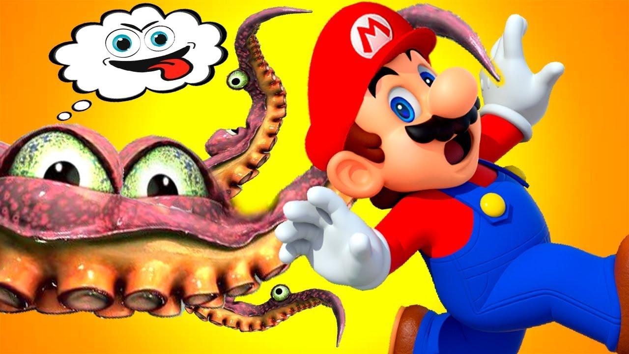 ПРИКЛЮЧЕНИЯ СУПЕР МАРИО- мультик игра для маленьких детей! Super Mario игровой мультфильм 2019
