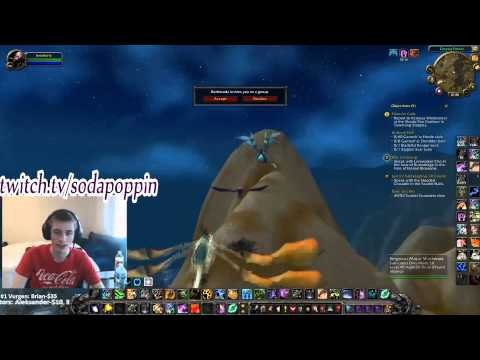 Sodapoppin has no friends, calls Blizzard about it