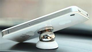 Автомобильный мини - держатель для мобильного телефона (магнитный)
