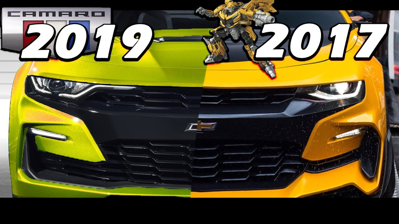 The 2019 Refresh Camaro Is A 2017 Blebee Knockoff