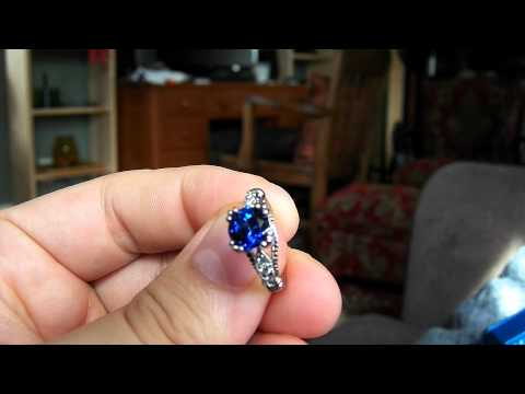 Sapphire Engagement ring by Amcor Design