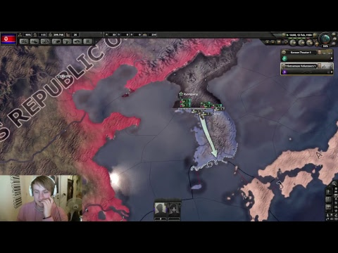 Hearts of Iron 4   Cold war: the iron curtain mod   North Korea 1#