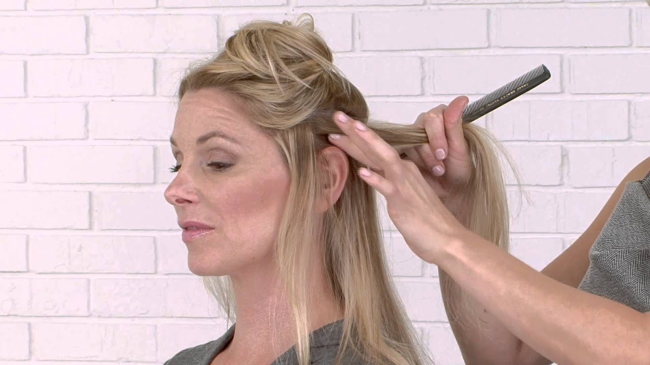 Step by step how to apply lox studio hair extensions youtube step by step how to apply lox studio hair extensions pmusecretfo Images