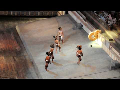 Xcaret - Pok-ta-Pok - Mayan ball game thumbnail