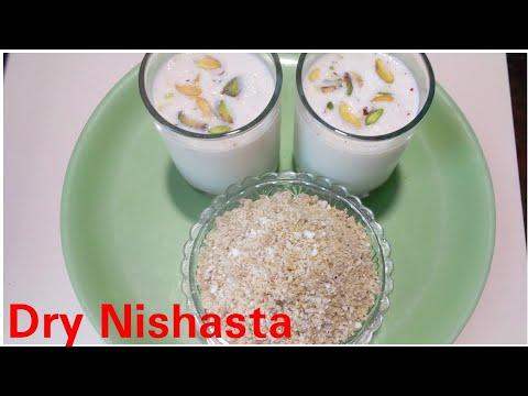 Dry Nishasta recipe by kitchen with Rehana