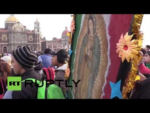 Mexico: Thousands of pilgrims flock to Basilica of Our Lady of Guadalupe