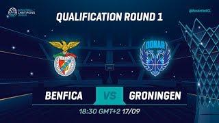 SL Benfica V Donar Groningen   Full Game   Qual. Rd. 1   Basketball Champions League 2019 20
