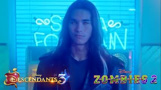 ZOMBIES 2 | Booboo Stewart Scene | Baby Ariel Music Video | Descendants 3