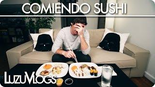COMIENDO SUSHI - LuzuVlogs