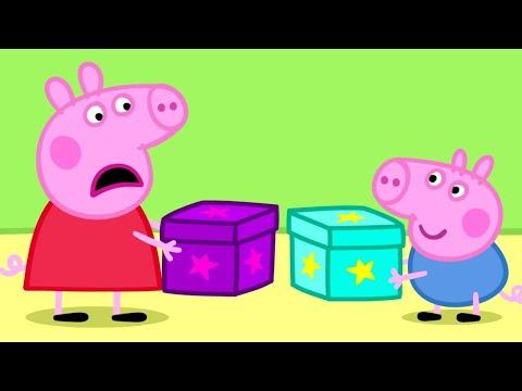 Peppa Pig English Episodes | Peppa Pig's Secret Box! Peppa Pig Official