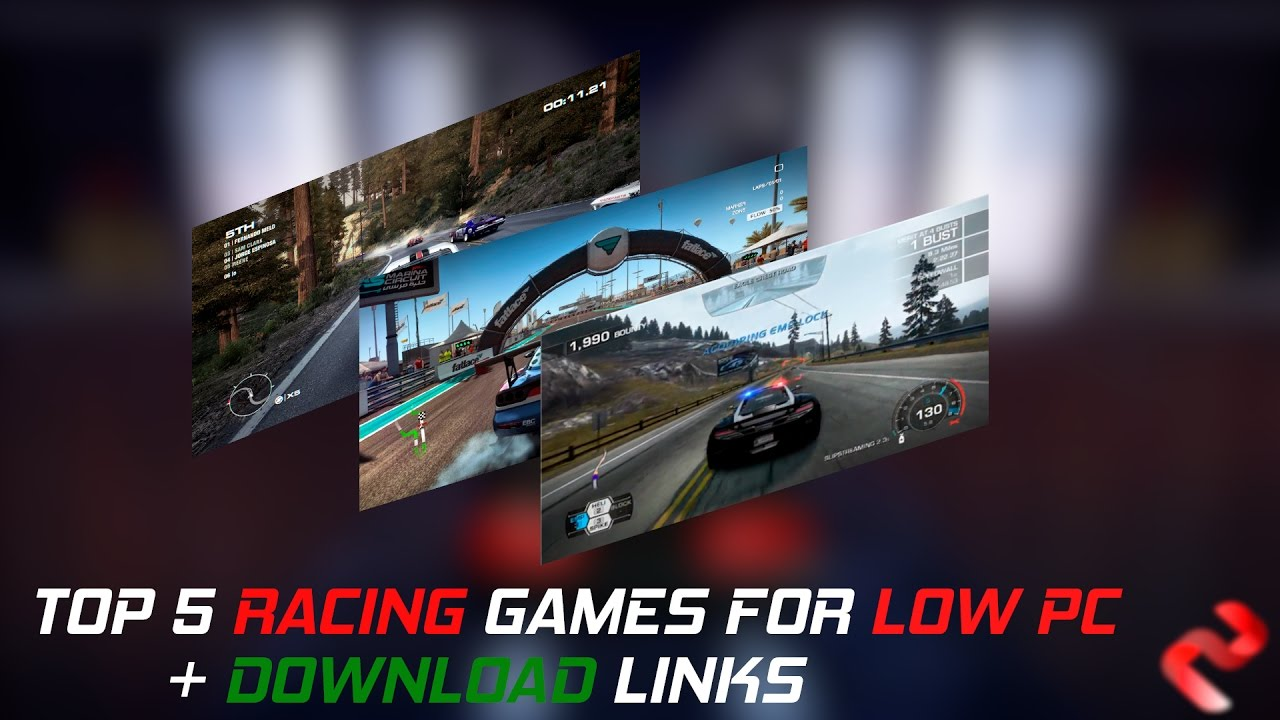 Top 5 Racing Games For Low Pc Download Links Youtube