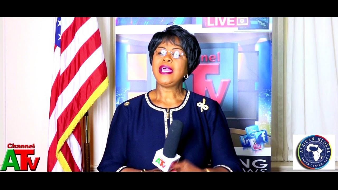 African Union Ambassador to The U.S H.E Dr. Arikana Chihombori Speaks about Africa's Sustainabi